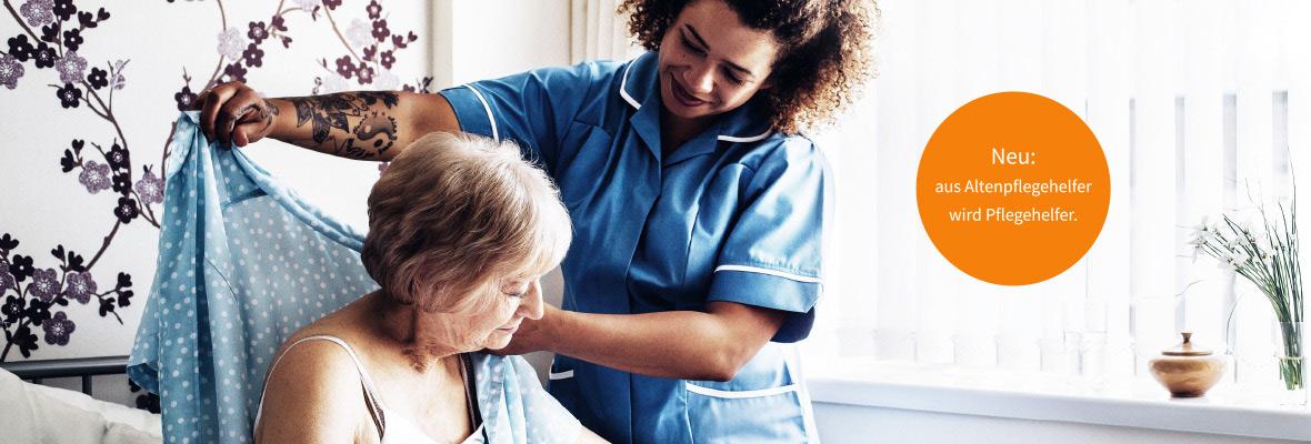 Ausbildung Pflegehelfer:in.