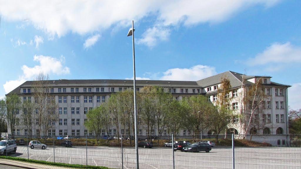 Berufsfachschule für Altenpflege Chemnitz Gebäude Ostseite