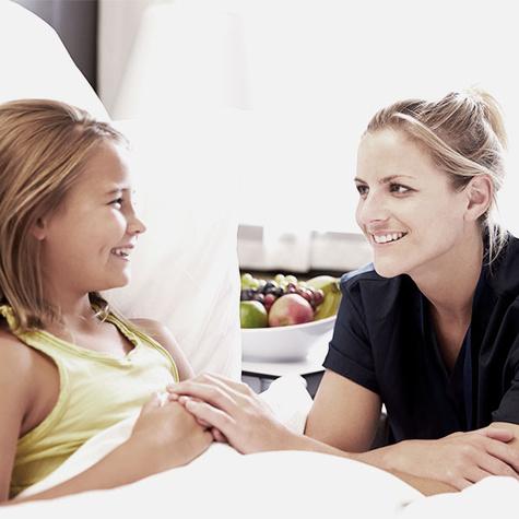 Generalistische Pflegeausbildung - Pflegefachfrau in der Kinderkrankenpflege