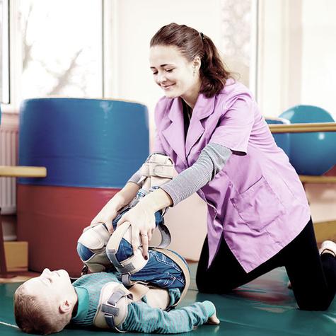 Pflegefachfrau in der Kinderpflege